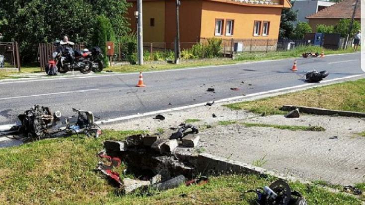 TRAGÉDIA: Háromfelé szakadt a motor, nem élte túl a fiatal férfi