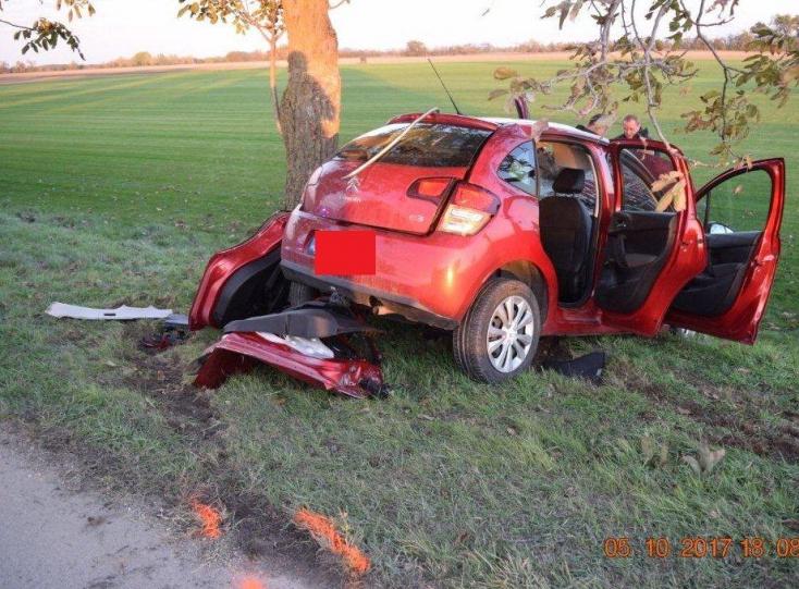 Nagymegyeri nő szenvedett súlyos balesetet Úszornál
