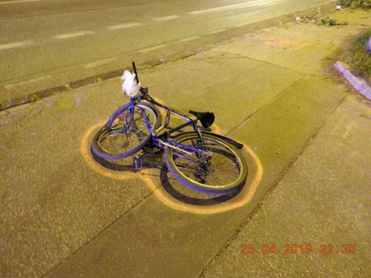 Belehalt sérüléseibe a kerékpáros, akit cserbenhagyott a sofőr Dunaszerdahelyen