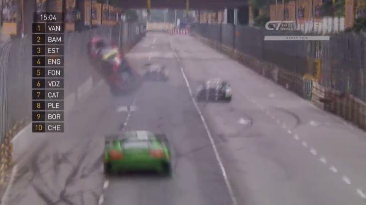 250-nel borult az Audi R8-assal, de így is megnyerte a versenyt