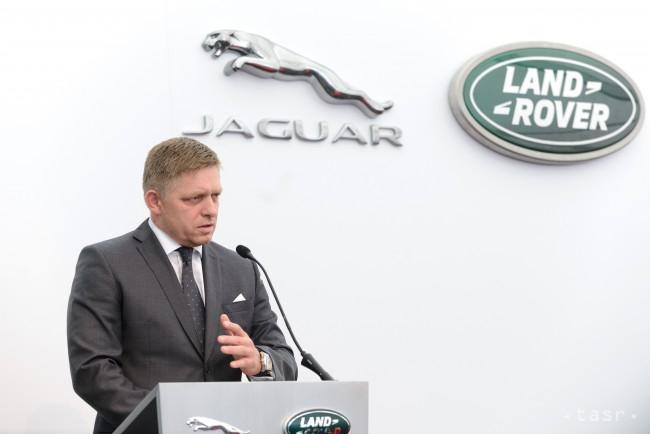 Megkezdték Nyitrán a Jaguar Land Rover üzem építését