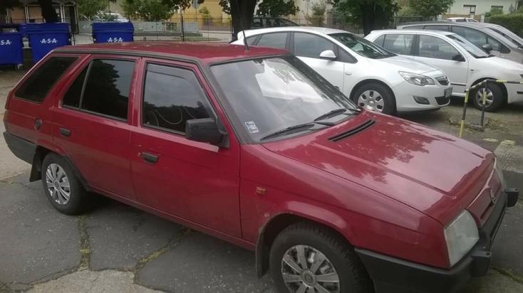 Dunaszerdahelyen fújták meg ezt a Škoda Formant