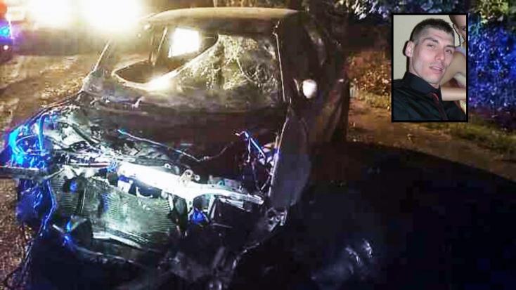 TRAGÉDIA: Száz méterrel a lakhelye előtt fának csapódott a fiatal férfi, nem élte túl