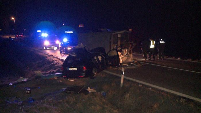 TRAGÉDIA: Elszabadult menet közben az utánfutó, meghalt egy fiatal sofőr