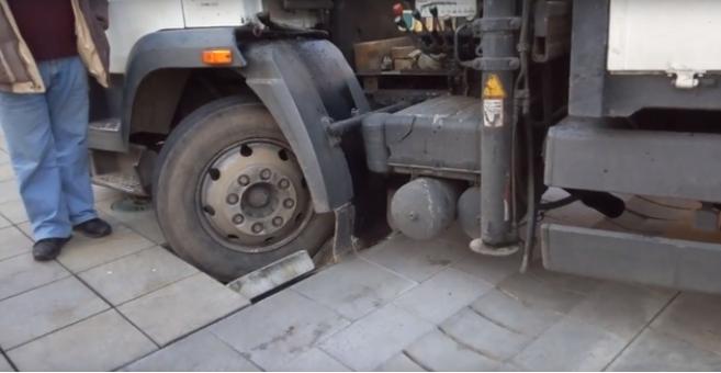 Ha Győrben jár, teherautójával kerülje el a felújított Széchenyi teret