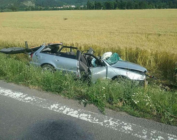 Szörnyű baleset: Kamion és személyautó ütközött, egy ember meghalt