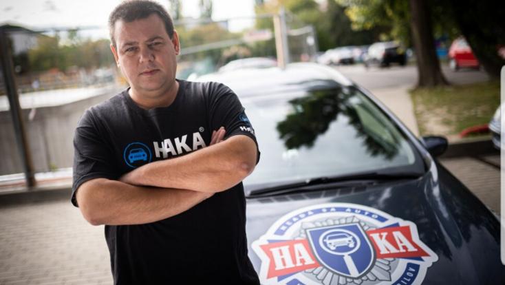 A szlovák biztonsági őr, aki több lopott kocsit talált már meg, mint bármelyik rendőr