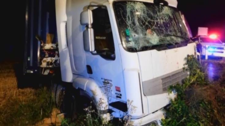 Több ezer eurós kárt okozott a részeg kamionos