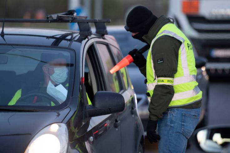 Kollégáját vitte hazafelé, megbüntették a rendőrök Hegyétén