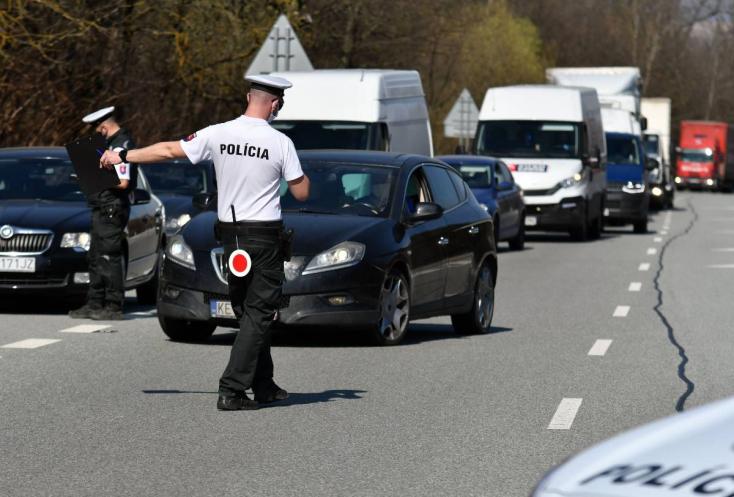 Egyre több a részeg autós Szlovákiában, a rendőrök ezért visszatérnek az utakra