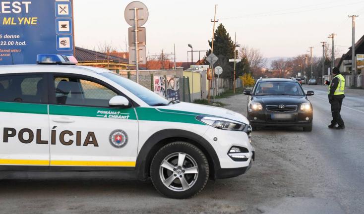 Rendőrségi ellenőrzés – négy óra alatt több mint 70 kihágást jegyeztek fel három járásban