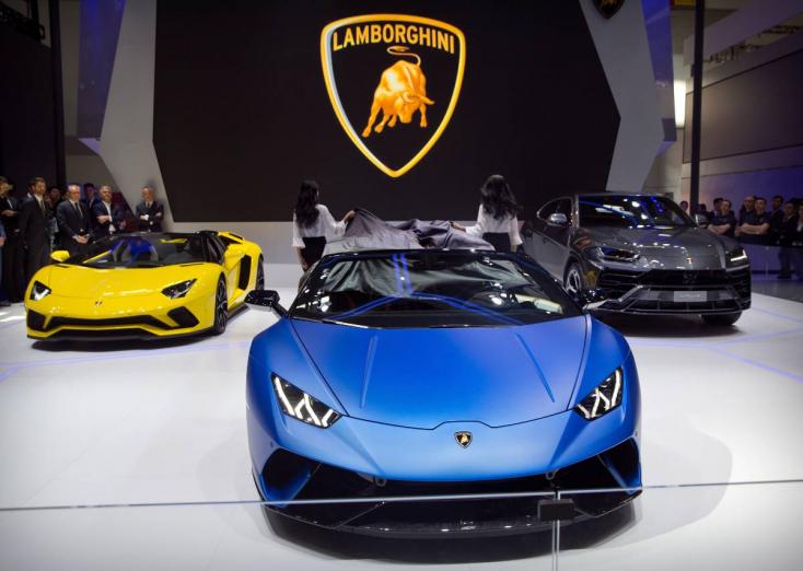 Másfélszer annyi Lamborghinit vettek tavaly, mint egy évvel korábban