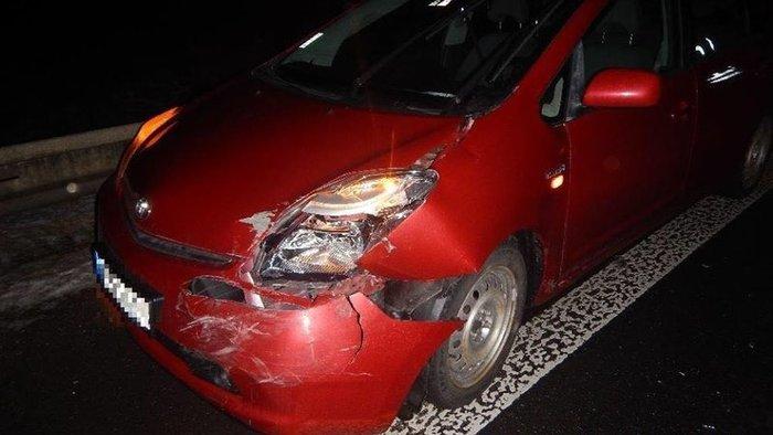 Hullarészeg nő karambolozott, 14 hónapos gyereke is a kocsiban volt