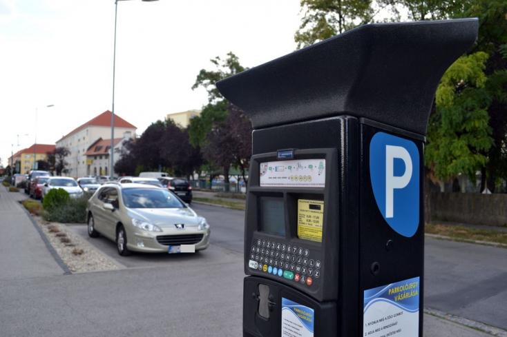 A parkolórendszerben a hiba Dunaszerdahelyen
