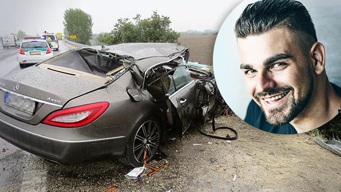 Borzalmas közúti baleset: életéért küzd az ismert DJ!