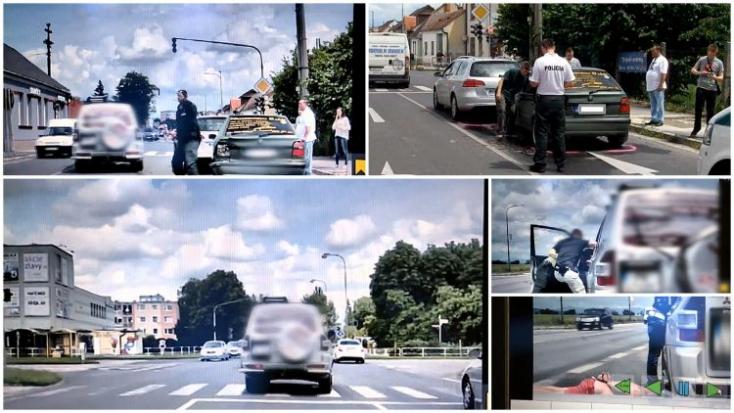 Ittas sofőr menekült a rendőrök elől - még öt óra elteltével is teljesen részeg volt