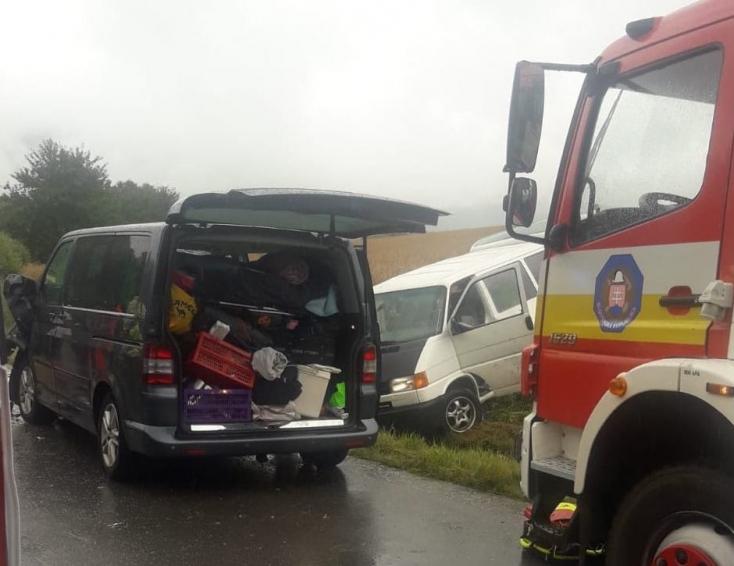 Büntetőeljárás indult a Liptovský Trnovec községben történt balesetegyik sofőrje ellen