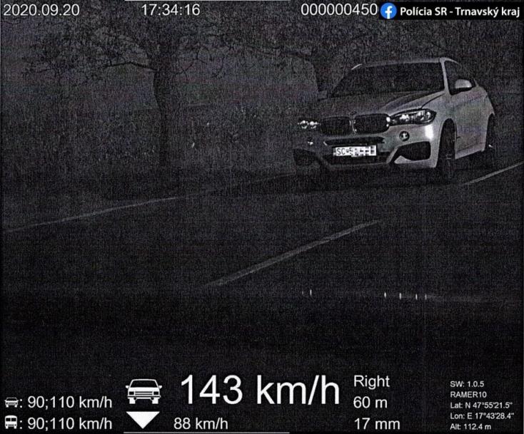 Versenypályának nézte a 63-ast egy BMW-s Nagymegyer és Alistál között!