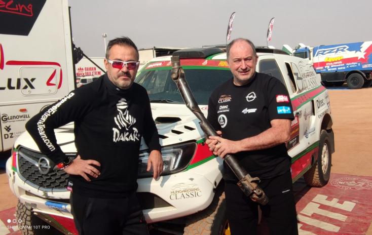 Dakar-rali - Szalay Balázsék nem tudják folytatni