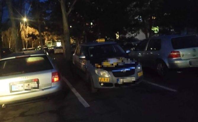 Beállva szállított utasokat egy szlovák taxis!