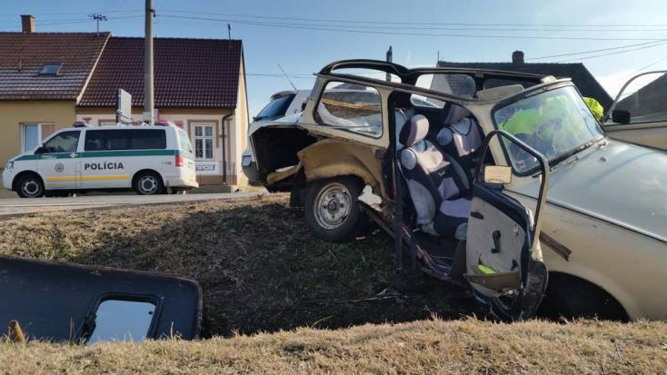 Ilyen balesetet ma már nem nagyon látsz!