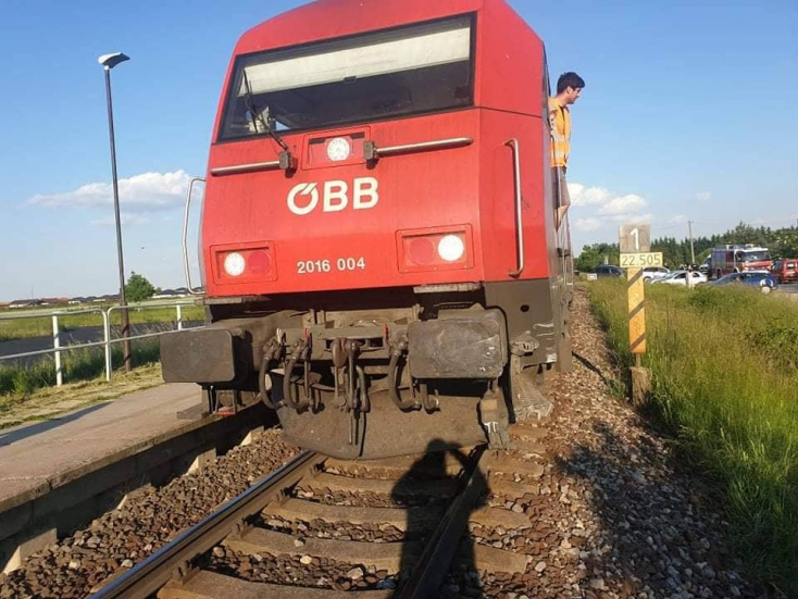 Egy sérültje volt az úszori vasúti balesetnek