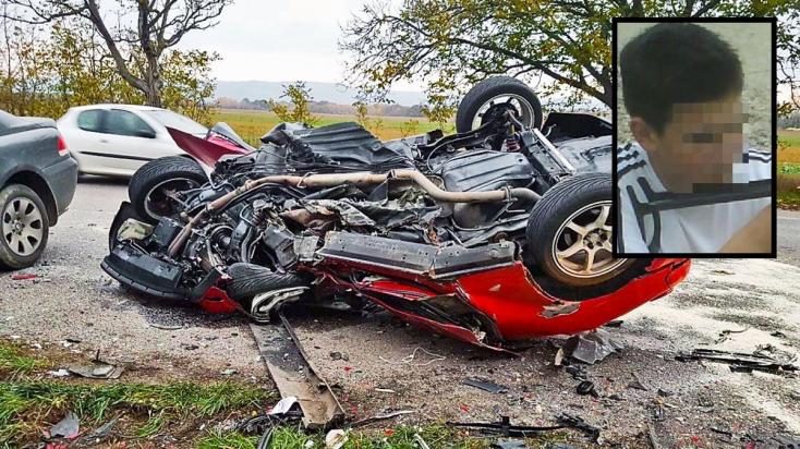 Csupán néhány hétig élvezhette feltuningolt autóját a frontális balesetben elhunyt fiatal